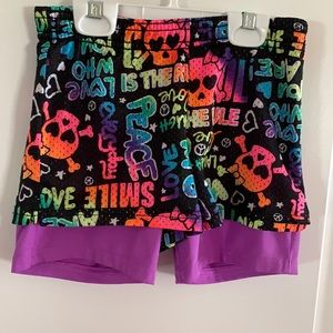Justice Mesh Sports Shorts